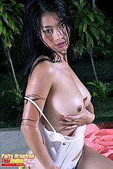 Patty Oraphan Cupping Big Breasts