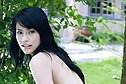 Beauty Jupjang Bunrugsa stripping dress outdoors spreading legs