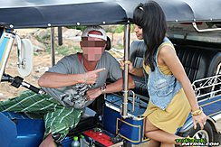 Nuch Talking To Tuktuk Driver